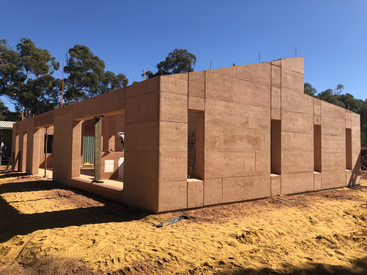 Rammed Earth Building – Bindoon 2020 – 6